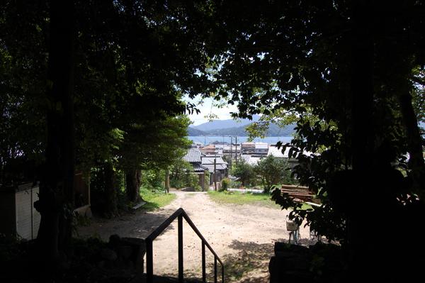 麓神社からの眺望
